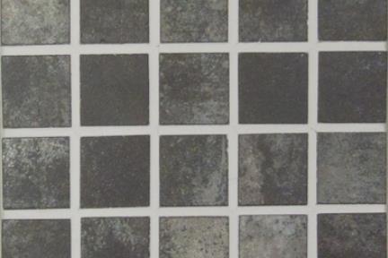 אריחי פסיפס לחיפוי קיר מקרמיקה 3870. פסיפס 3*3 מטאלי סילבר.
