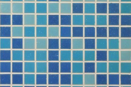 1014818. פסיפס זכוכית כחולים 2*2