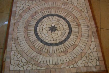 אריחים דקורטיבים מאבן ST801. שטיח אבן  גודל: 80X80