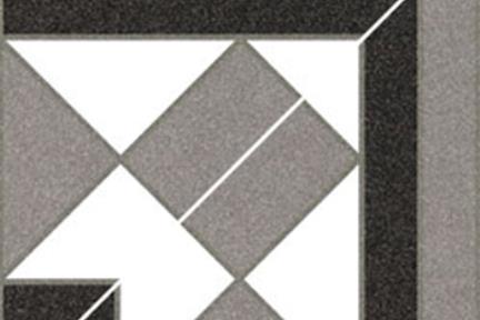 אריחי ריצוף  קרמיקה ענתיקה 12330806B. פינה דקור ענתיקה, גודל: 15.8/15.8