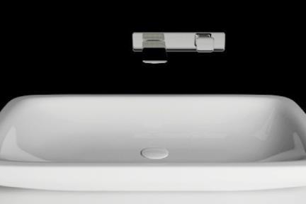 כיור מונח לחדר אמבטיה B707. כיור מונח (ללא סוגר קרמי), גודל 45/72