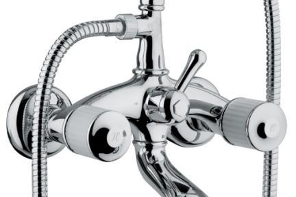 ברז Bongio ענתיקה Cristallo 04526. טלפון ענתיק לאמבטיה