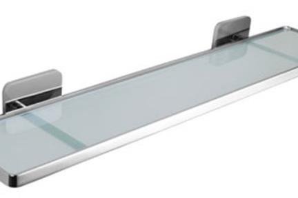 אביזרים לאמבטיה מסדרת 58 58037. מדף זכוכית