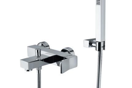ברז Bongio סדרת REEF 53526D. סוללה טלפון לאמבטיה   סדרה:  REEF