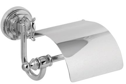 אביזרים לאמבטיה מסדרת Swarovski 7511C. צבע ניקל