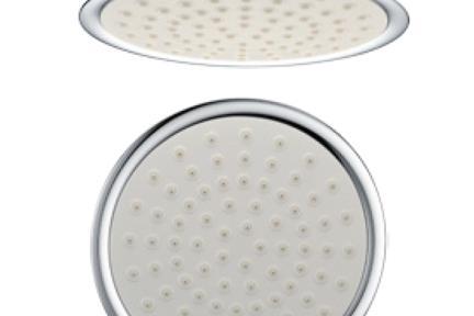 אביזרים לאמבטיה ראשי טוש   SH208-1. ראש טוש לבן   קוטר 20.8