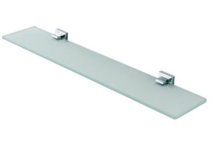 אביזרים לאמבטיה מסדרת 24 24037. מדף זכוכית