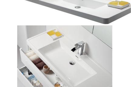 כיור אמבטיה אקרילי  L6285. כיור אקרילי לבן   גודל:  48/120