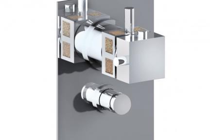 ברז מעוצב Bongio - Pure glam סדרה 3D 3D549