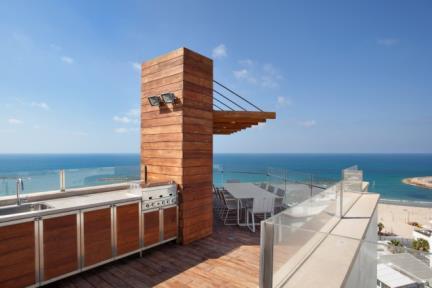 פנטהאוס על הים. עיצוב ותכנון:  Tanya Paissin interior design  פלאפון:054-6563636  צילום: אורי אקרמן.