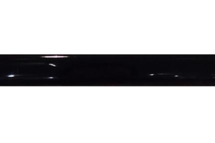 """פרופיל  לגימור 20 ס""""מ 2060-09. פס הפרדה טרפז  שחור מבריק  גודל:  20*2"""