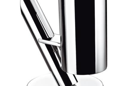 אביזרים לאמבטיה סדרת ברזים ONE של Bongio 29012. מתקן למברשת שיניים מהמשטח.  תוצרת BONGIO איטליה