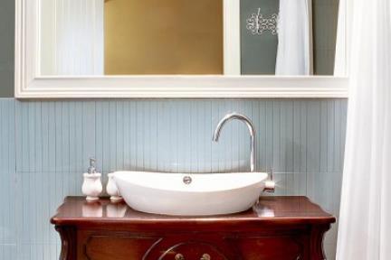 בית בכוכב הצפון. סגנון ענתיקה    צילום: נדיה רוזנברג.