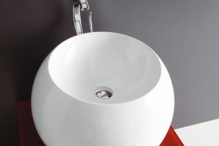 כיור מונח לחדר אמבטיה L7570. כיור ביצה מונח.  קוטר:56.