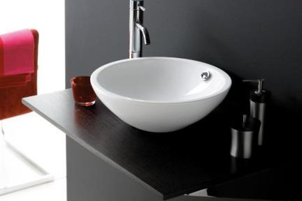 כיור מונח לחדר אמבטיה B350. כיור מונח קוטר 35