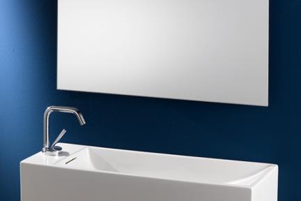 כיור מונח לחדר אמבטיה B740. כיור מונח ארוך וצר  גודל: 25*74