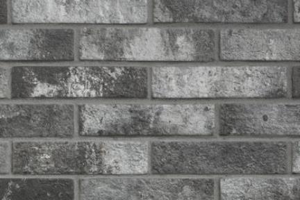 חיפוי קיר בריקים מפורצלן 16202A. בריק פורצלן אפור כהה  גודל: 6*25