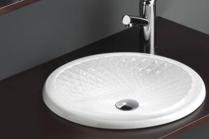 כיור מונח לחדר אמבטיה B431. כיור שולחני מעוניינים  קוטר: 43.5
