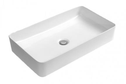 כיור מונח לחדר אמבטיה  L602. כיור מונח מלבני.  גודל 34*60.  גובה: 11.