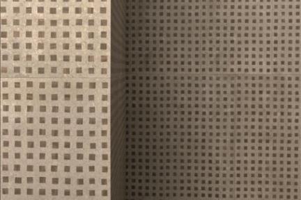 דגם 1001302. אפור עץ עם דקור ריבועי עץ.  גודל: 60*30.  נגד החלקה R10.
