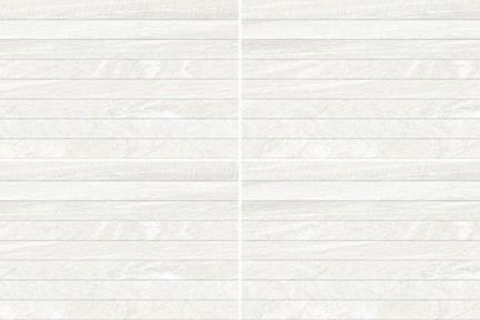 אריח לחיפוי קיר  דמוי אבן 1005455. דמוי תריס לבן.  גודל: 32*62.5