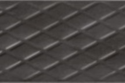 אריח לחיפוי קיר  דמוי טקסטיל 1387. דקור מעורב בטון שחור לקירות.  גודל: 7.5*30