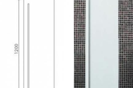ארונות אמבטיה לאחסון  6000-1. ארון אחסון לבן.  גודל: 120*30*40
