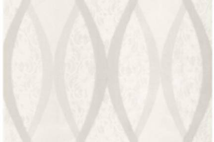 אריחים דקורטיבים גאומטרים 1014794. ספירלות לאריח אוניקס לבן. גודל: 33.3*95