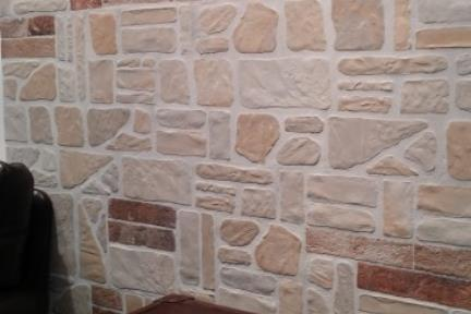 חיפוי קיר בריקים מפורצלן 1013129. דמוי לבנים רב צבע.  נגד החלקה R10  גודל: 13*25  מתאים לקיר ולרצפה.