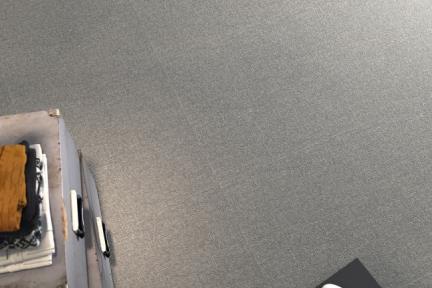 דגם 1011403. דמוי בד אפור-שחור.  גודל: 59.5*59.5