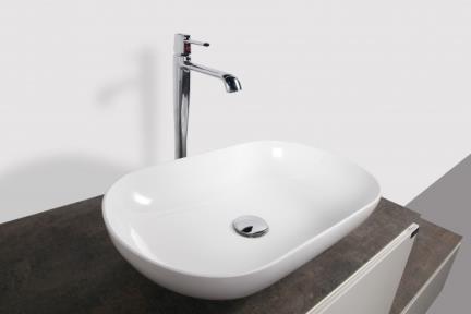 כיור אמבטיה אקרילי L540. כיור אקרילי לבן.  גודל: 34*54  גובה: 12
