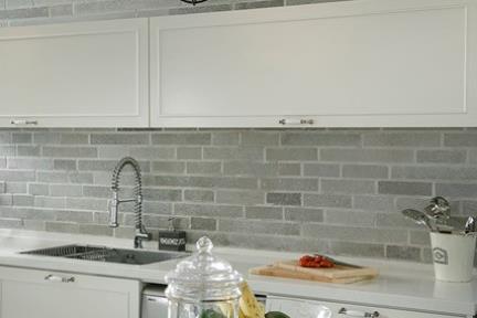 חיפוי הקיר במטבח