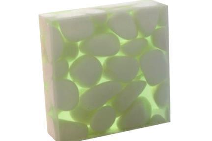 רזינה צבע 06. רזינה ירוקה  מידה 30X30