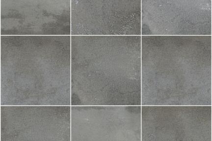 אריחי ריצוף  גרניט פורצלן דמוי אבן 1011992. קרמיקה דמוי אבן פחם.  נגד החלקה R10.  גודל: 31.6*31.6