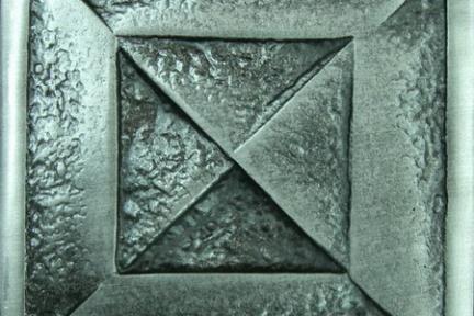 אריחים דקורטיבים ממתכת MT205. מידה: 10X10