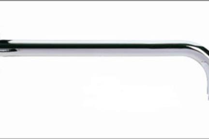 """אביזרי אמבטיה מסוג זרוע טוש: AR1. זרוע לטוש 30 ס""""מ"""