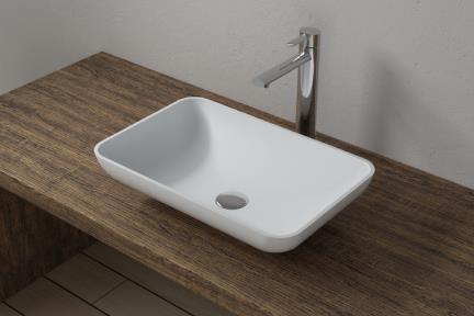 כיור מונח לחדר אמבטיה L523MT. גיור מונח מאבן מלאכותית.  גודל: 34*52