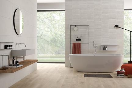 אריחי קרמיקה לאמבטיה 1011919. דגם 1011919  קרמיקה דמוי אבן אפרפר לקירות.  גודל: 119.2*39.6