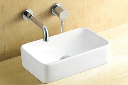 כיור מונח לחדר אמבטיה L482. כיור מונח מלבני.  גודל: 29.5*48.5