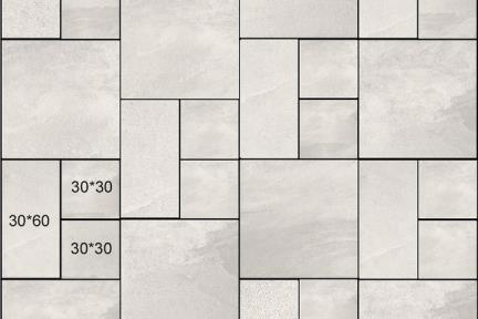 אריחי ריצוף  פורצלן דמוי בטון 1675. פורצלן רב גודל אפור תוצרת PSTORELLI  איטליה  גדלים: 60*60, 30*30, 60*30  נגד החלקה R10