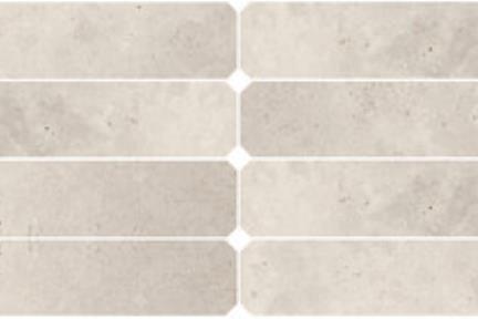 אריחי ריצוף  גרניט פורצלן דמוי אבן 1012372. פורצלן מתומן מאורח חץ אבן בז  גודל: 10*60  נגד החלקה R10