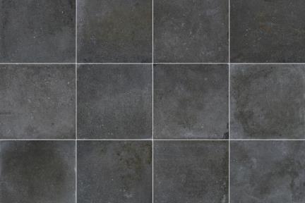 אריחי ריצוף  פורצלן דמוי בטון 1002339. פורצלן בטון שחור-פחם.  גודל: 60*60