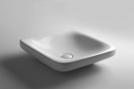 """כיור מונח לחדר אמבטיה B407. כיור מונח תוצרת איטליה VALDAMA  45*45  גובה 12  מחיר: 702 ש""""ח"""