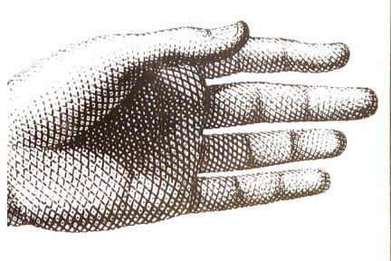 דגם C237. דקור יד שחור לבן.  גודל: 20*20