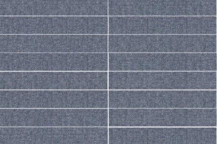 """אריח לחיפוי קיר  דמוי טקסטיל 1001397. דמוי בד כחול ג'ינס  גודל 59.5*9.7  מחיר 117 ש""""ח"""