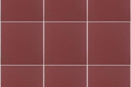 אריחי ריצוף  מסדרת Colour 1001137. פורצלן בורדו גודל: 15*15  מתאים לקיר ולריצפה.