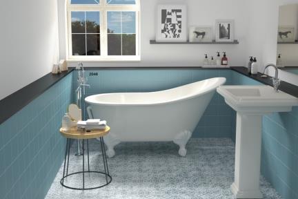 אריחי ריצוף  מסדרת Colour 1002406. פורצלן כחול טורקיז.  גודל: 15*15  מתאים לקיר ולריצפה.