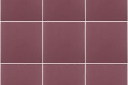 אריחי ריצוף  מסדרת Colour 1003609. פורצלן בורדו כהה.  גודל: 15*15  מתאים לקיר ולריצפה.