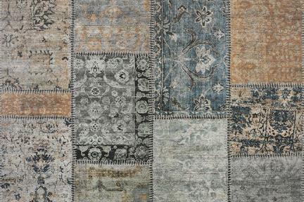 דגם 1001726. פורצלן דמוי שטיח צבעוני  גודל 100*100