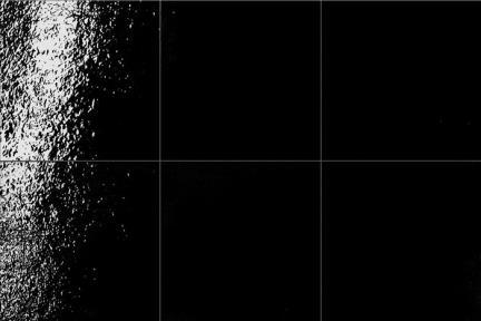 אריחי ריצוף  מסדרת Colour 21639. פורצלן ענתיקה שחור מבריק.  גודל: 21.6*21.6